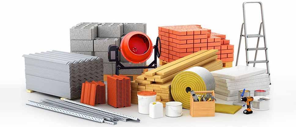 خرید مصالح ساختمانی